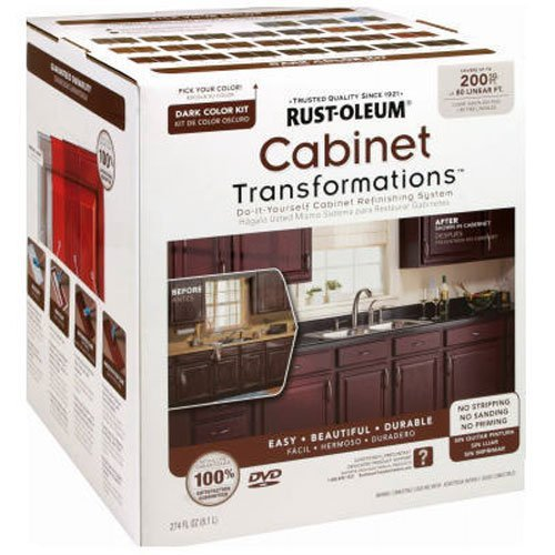 RUST-OLEUM 258242 Dark Tint Base Cabinet Transformations Kit, Large