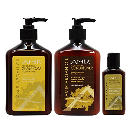 Argan Shampoo Conditioner Travel Moisturizer