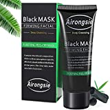 Blackhead Remover Mask, Charcoal Peel Off Mask, Black Mask - Deep Cleansing Blackhead Remover Anti Acne Oil Control Purifying Activated Carbon Remover Deep Cleaning Facial Mask - 90 Gram