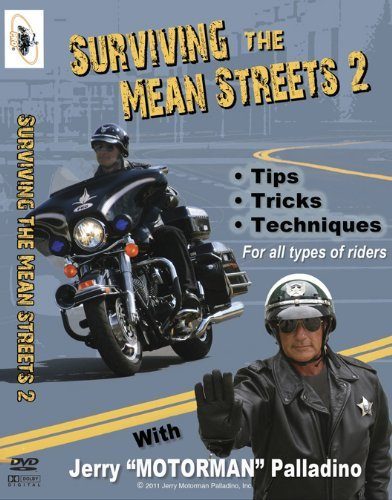Surviving the Mean Streets 2 - DVD - Jerry ''Motorman'' Palladino by Ride Like a Pro DVDs