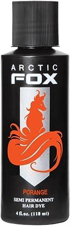 Porange, color de pelo semi permanente Naranja neón UV - 118 ml - Arctic Fox