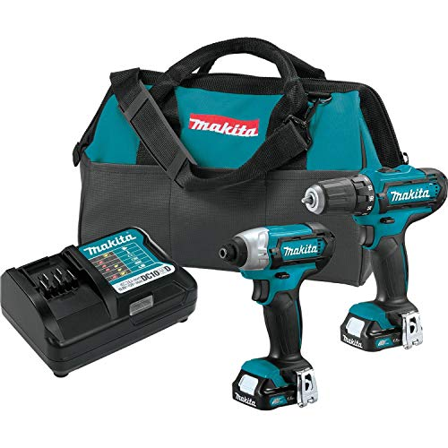 - Makita CT226 12V Max CXT Lithium-Ion Cordless 2-Pc. Combo Kit (1.5Ah)