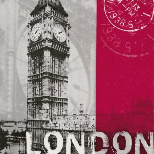 London Theme Party Lunch Napkins product image