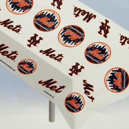 MLB New York Mets MLB Team Logo Plastic ()