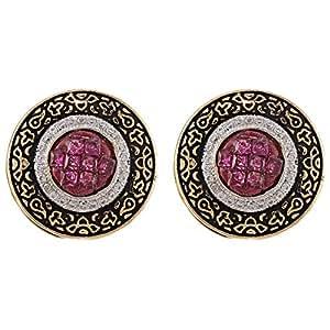 Aurora Women's Alloy Enamel Earring