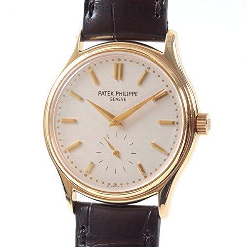 [パテックフィリップ]PATEK PHILIPPE 腕時計 カラトラバ 3923J-001 中古[1299332]シルバー 付属:国際保証書 ボックス 登録保証書  B07DCHWZLC