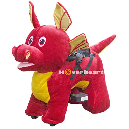 Rechargeable 6V/7A Plush Animal Ride On Toy for Kids  With S