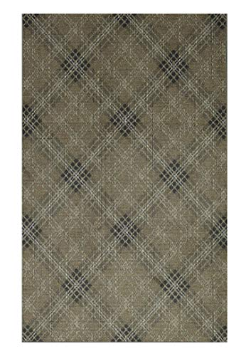 Mohawk Home Z0088 A452 096120 EC Russell Plaid Earth Area Rug, 8
