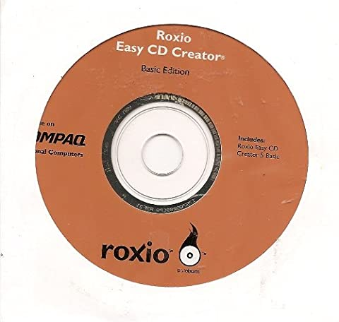 Roxio Easy CD Creator Basic Edition (For use on COMPAQ Personal Computers) (Roxio Products)