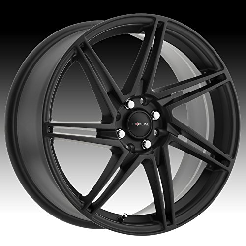 (Focal 449SB F-14 Black with Satin Clear-Coat Wheel with Painted Finish (16 x 7. inches /4 x 100 mm, 40 mm Offset))