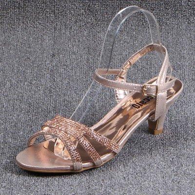 Heel Grandes GAOLIM Solo Alta Color Verano Ranurados Rocío De Para Astilleros Sandalias Perforación champán Sandalias De De Shoes Agua qHvqw4r6