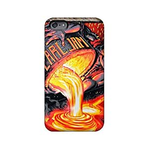 Best Hard Cell-phone Cases For iphone 5s With Unique Design Trendy Nirvana Skin SherriFakhry
