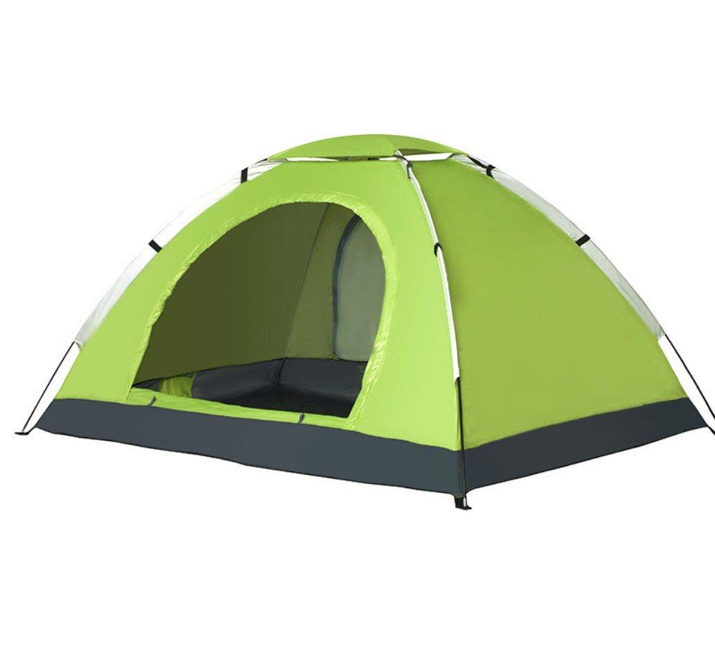 3-4 Personen Single-Layer-Baukonten UV-Schutz Markise Wild Camping Beach Outdoor Camping ZXCV