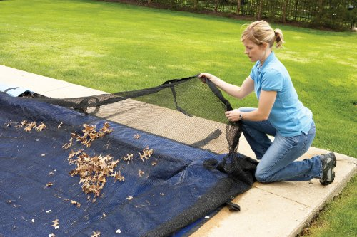 Blue Wave 20-ft x 40-ft Rectangular Leaf Net In Ground Pool Cover