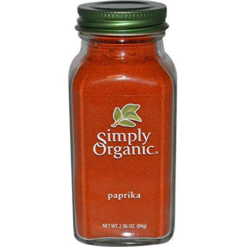 Simply Organic, Paprika, 2.96 oz (84 g) - 2pcs