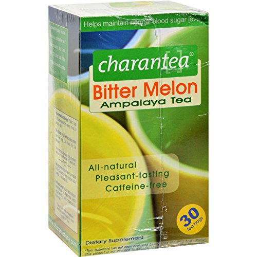 Ampalaya Charantea Tea - CHARANTEA TEA,BITTER MLN,DIABETES, 30 BAG
