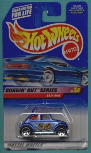 Hot Wheels 1999 Buggin' Out Series BAJA BUG 4/4 #944 1:64 Scale (Baja Bug Hot Wheels)