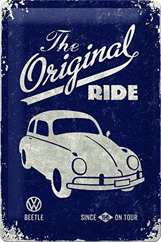 neueste art beispiellos präsentieren Nostalgic-Art 22202 Plaque en métal Coccinelle Originale de Volkswagen [en  Anglais] 20 x 30 cm