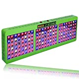 Cheap MarsHdyro Reflector144 Led Grow Light with 317W True Watt for Hydroponic Indoor Garden and Greenhouse Full Spectrum Veg and Bloom Switches added