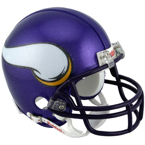 Minnesota Vikings Replica Riddell Mini Helmet