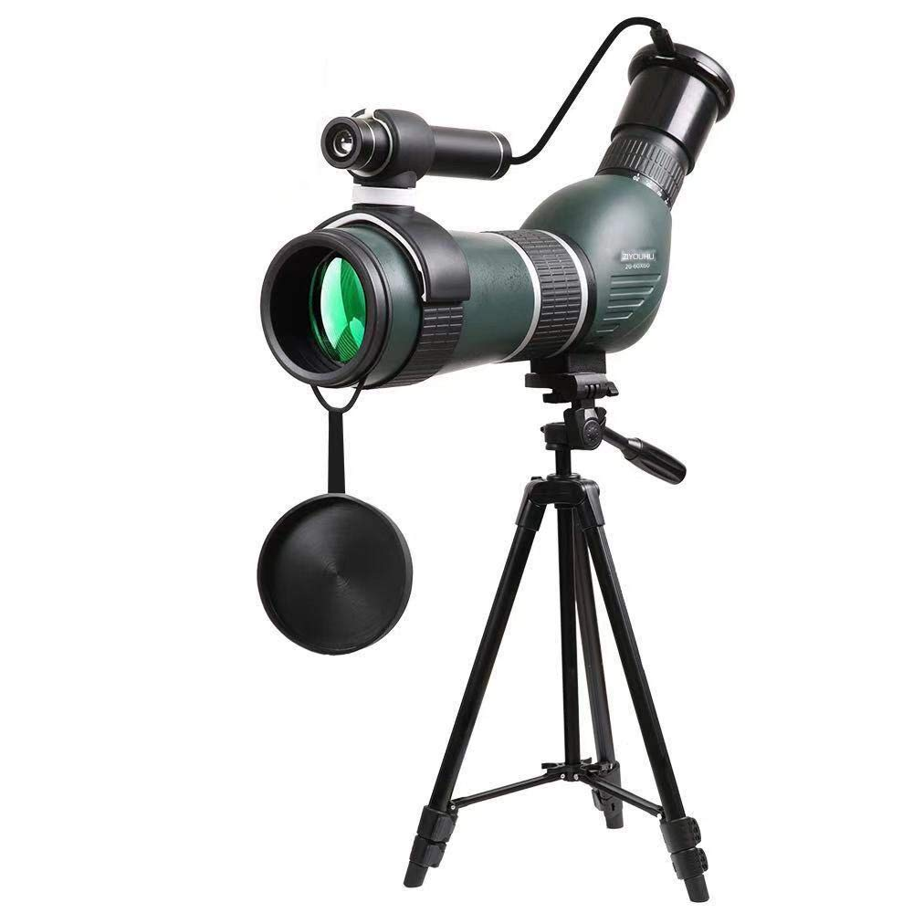 HUAXING Telescope, 15-45X 60S High Definition Monocular Telescope 2018 New Waterproof Monocular -BAK4 Prism for Wildlife Bird Watching Hunting Camping Travelling Wildlife by HUAXING