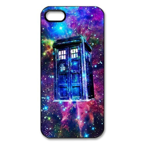 Cell World -Doctor Who Tardis Police call box -For Apple iPod Touch 6, 6th Generation, Made and shipped from the USA Style 14 (Dr Who Ipod 4)
