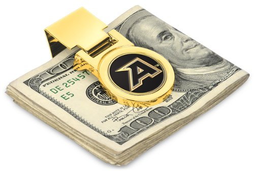 LinksWalker Army Black Knights Spring Loaded Money Clip ()