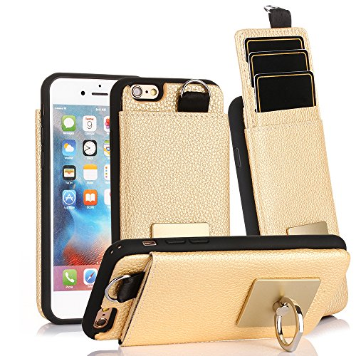 iphone 6 wallet case with stand - 6