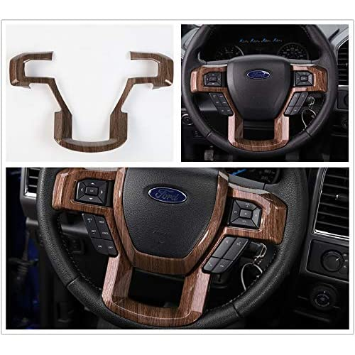 Flat Black GMC Steering Wheel Emblem Vinyl Decal For 2014-2018 Sierra Yukon New