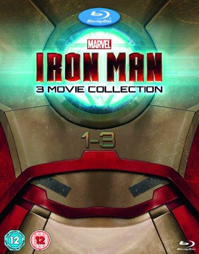 Iron Man 3 Movie Collection: Iron Man / Iron Man 2 / Iron Man 3 [Blu-ray] (Movie 3 Man Iron)