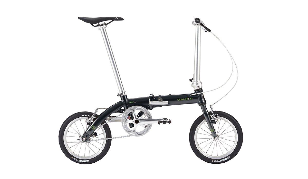 DAHON(ダホン)2018 DOVE PLUS(ダヴ プラス)オブシディアンブラック 折り畳み自転車 B078ZDP5QT