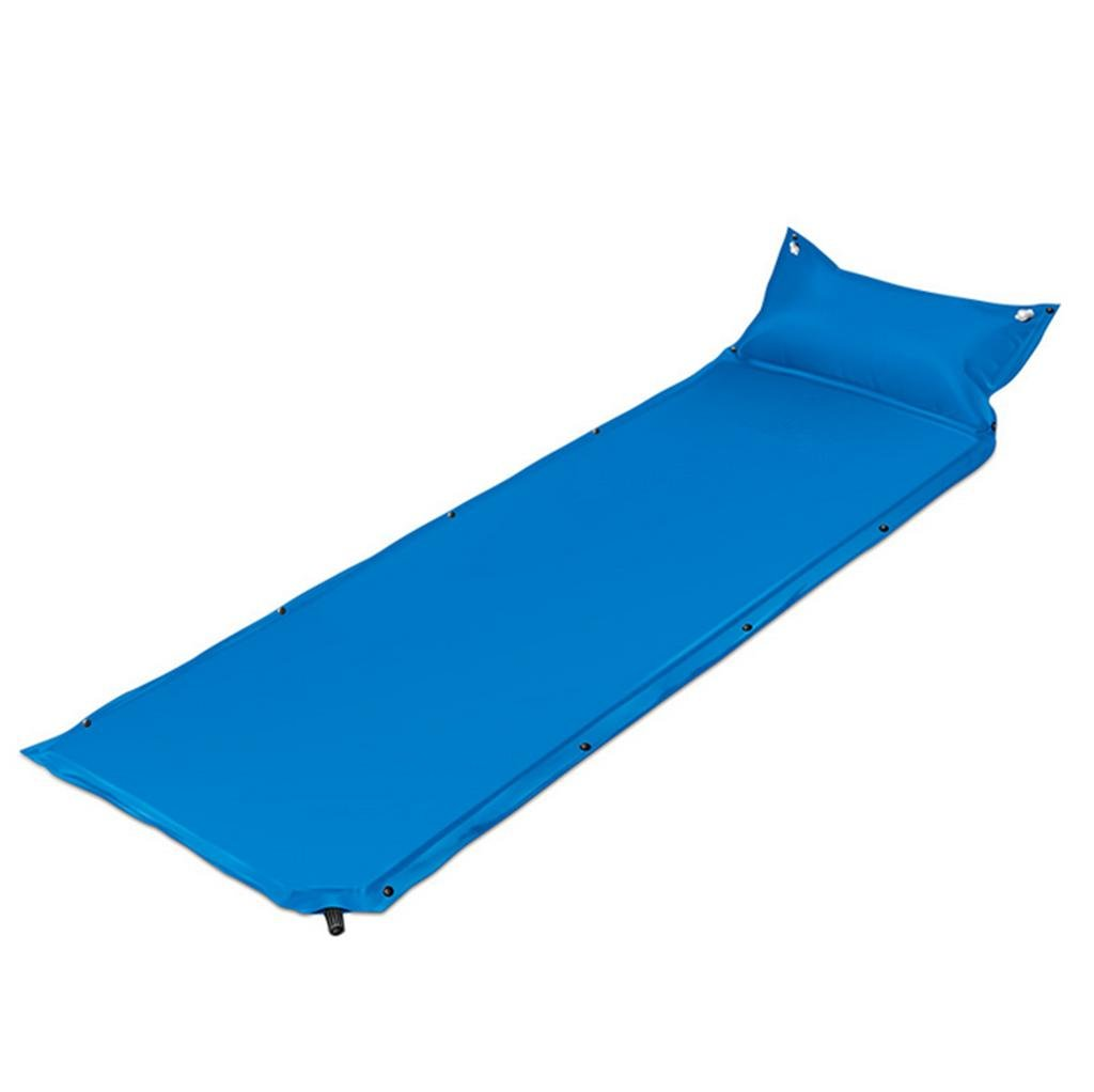 Aufblasbares Bett HETAO Air Bed Single automatisch aufblasbare Pads Outdoor Camping kann Splice zwei Personen Luftkissen Feuchtigkeit Kissen Bett 210  150cm Matratze
