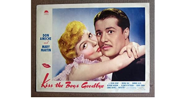 CX17 KISS THE BOYS GOODBYE Mary Martin/Ameche '41 LC  Here's a
