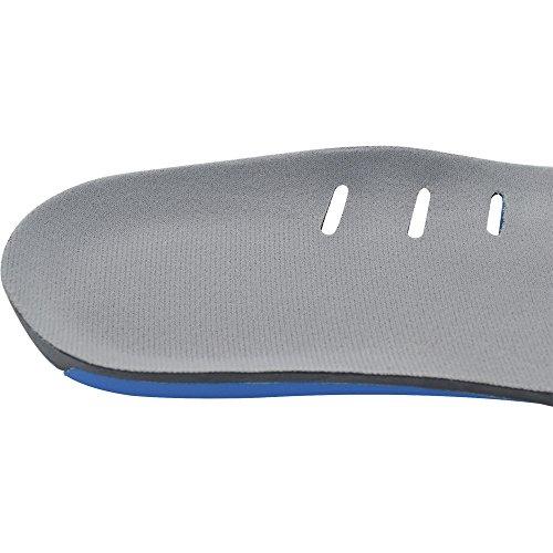 3/4 Longitud Unisex Transpirable Sudar-Absorbente Suave Cómodo Engrosadas Plantillas para Protegen Sus Pies También Eliminar la Presión Del Dolor L (24cm) L (24cm)