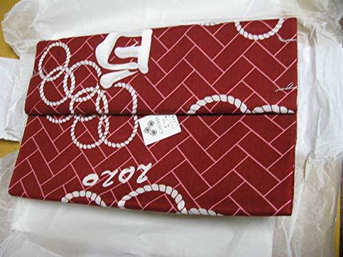 白鵬 オリンピック柄 相撲 浴衣 反物 生地 粗布の商品画像