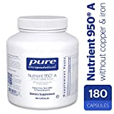 Cheap Pure Encapsulations – Nutrient 950 A Without Copper & Iron – Hypoallergenic Multi-vitamin/Mineral Formula for Optimal Health* – 180 Capsules