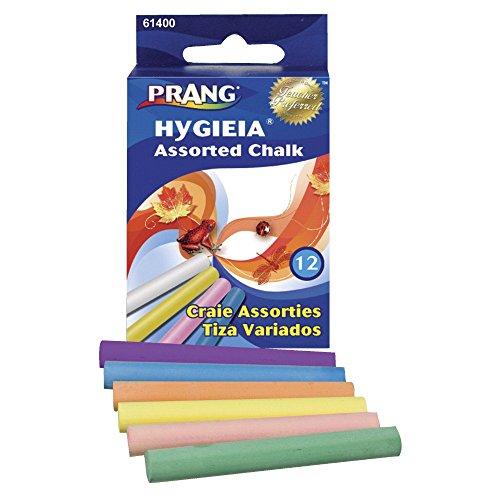 (Prang 034313 Non-Toxic Dustless Chalkboard Chalk44; Pack 12)