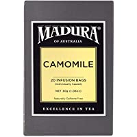 Madura Camomile 20 Enveloped Tea Bags, 1 x 30 g