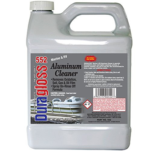 Duragloss 552 Marine and RV Aluminum Cleaner and Brightener