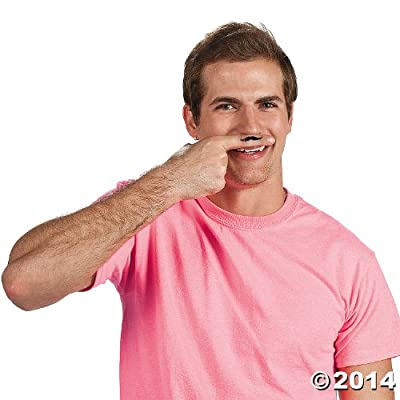 Mustache Party Tattoos- 36 Count, 39/2197: Toys & Games