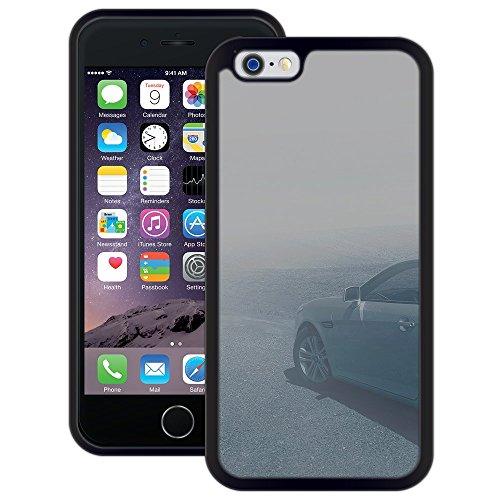 Auto im Nebel   Handgefertigt   iPhone 6 6s (4,7')   Schwarze Hülle