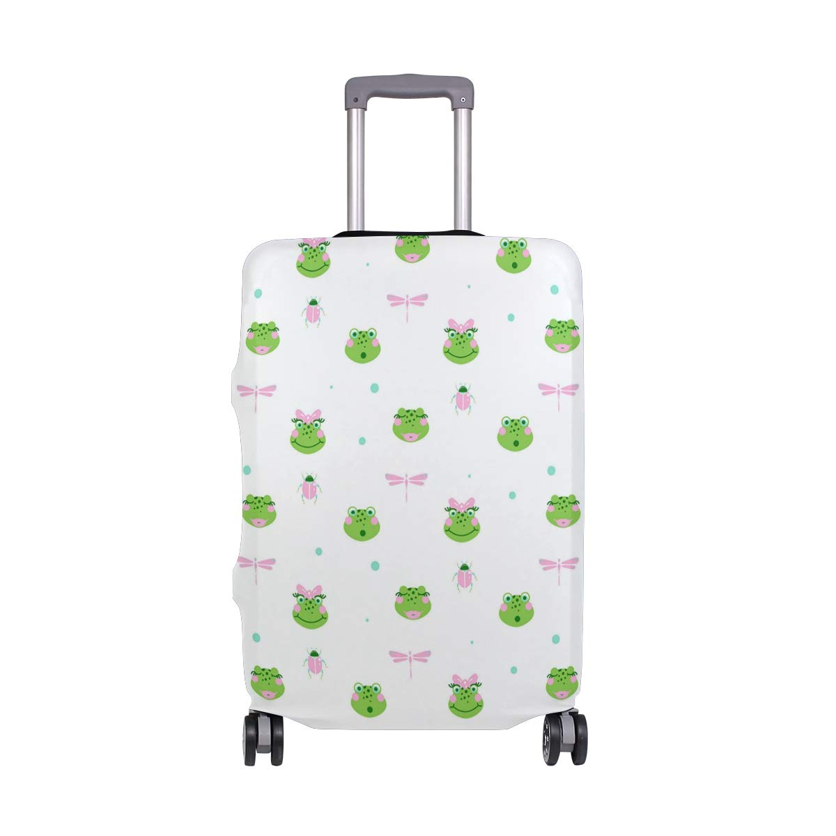 Dragonfly Crystal Necklace Colorful Travel Luggage Protector Case Suitcase Protector For Man/&Woman Fits 18-32 Inch Luggage