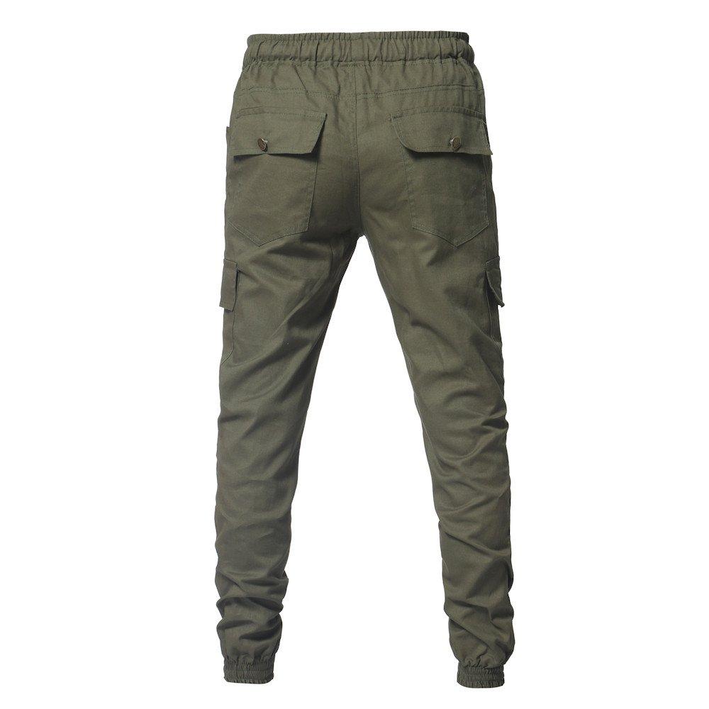 Spbamboo Mens Pants Sport Camouflage Pockets Casual Loose Drawstring Sweatpants by Spbamboo (Image #6)