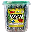 """Sour Punch Twists, 4 Flavor Individually Wrapped Sweet & Sour Candy, 6"""" Inch Pieces, 2.71LB Jar"""