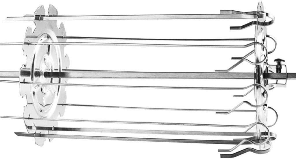 PING barbacoa parrilla jaula, acero metal asador pinchos jaula de agujas horno Kebab fabricante parrilla acero inoxidable