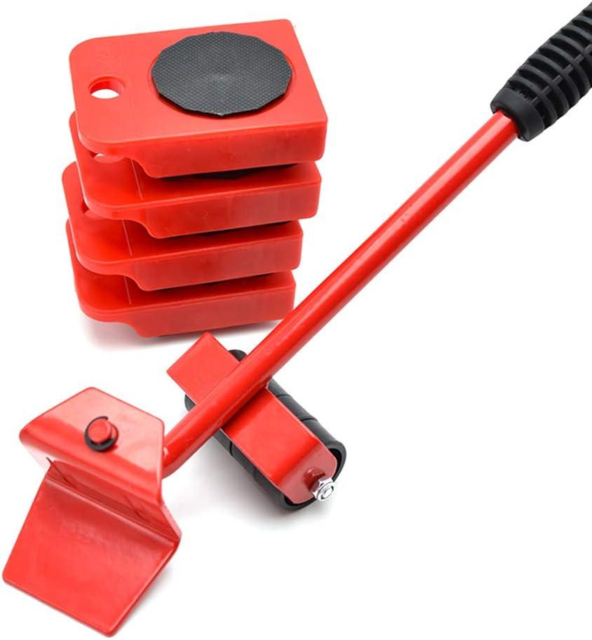 Juego de herramientas para elevadores de muebles, kit elevador para sistemas de mudanzas de muebles pesados - Dispositivo móvil Herramienta de manipulación de cargas pesadas con 4 deslizadores: Amazon.es: Hogar