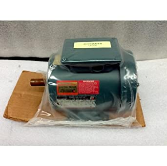 Reliance electric co p14h1406n up duty master a c motor for Duty master ac motor reliance electric