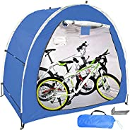 Bike Tent Bicycle Storage Shed,Portable Waterproof Bike Covers,210D Thickened Oxford Silver Coating and Reinfo