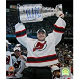 NHL New Jersey Devils Martin Brodeur 2003 Stanley Cup Overhead Photograph, 8 x 10-Inch