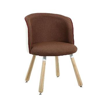 Amazon.de: SFFSYAB Esszimmerstühle-Küche Stühle Wohnzimmer Lounge ...